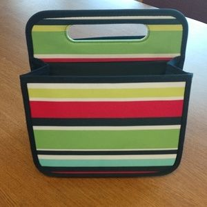 Thirty-One Double Duty Caddy in Preppy Pop